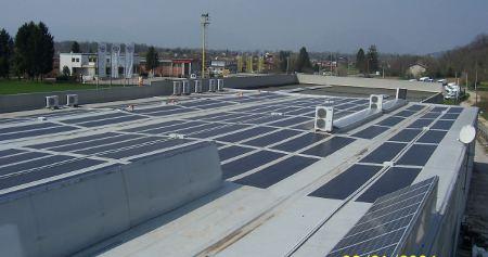 Impianto fotovoltaico realizzato da Inst. El. snc