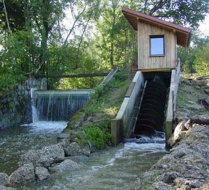 Impianto Idroelettrico: turbina a coclea